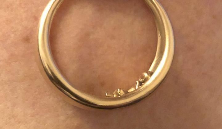 Talibea Amulett in Gold